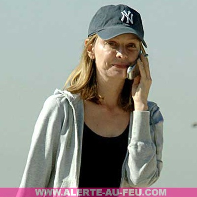 calista flockhart sans maquillage