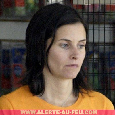 courtney cox sans maquillage